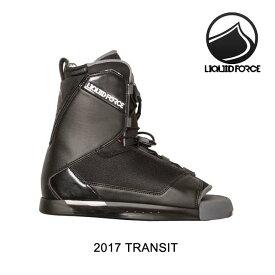 2017 LIQUID FORCE リキッドフォース トランジット バインディング BINDING TRANSIT BLACK スノーボード ビンディング SNOWBOARD BINDING 8-10
