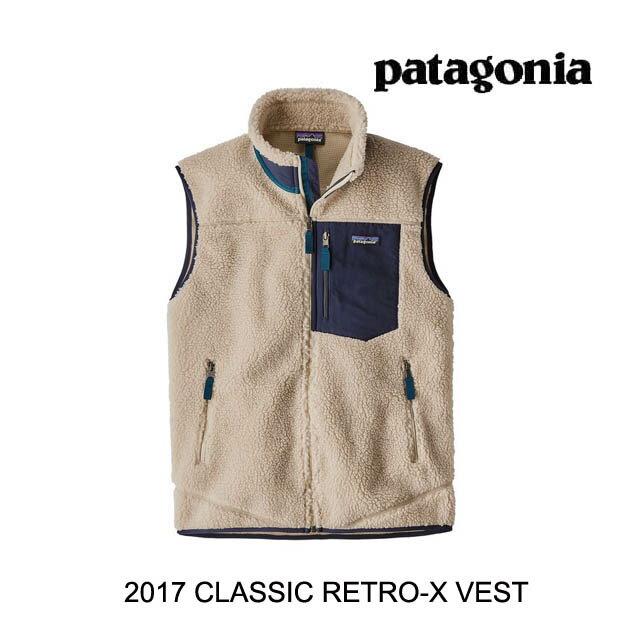 2017 PATAGONIA パタゴニア ベスト CLASSIC RETRO-X VEST NAT NATURAL