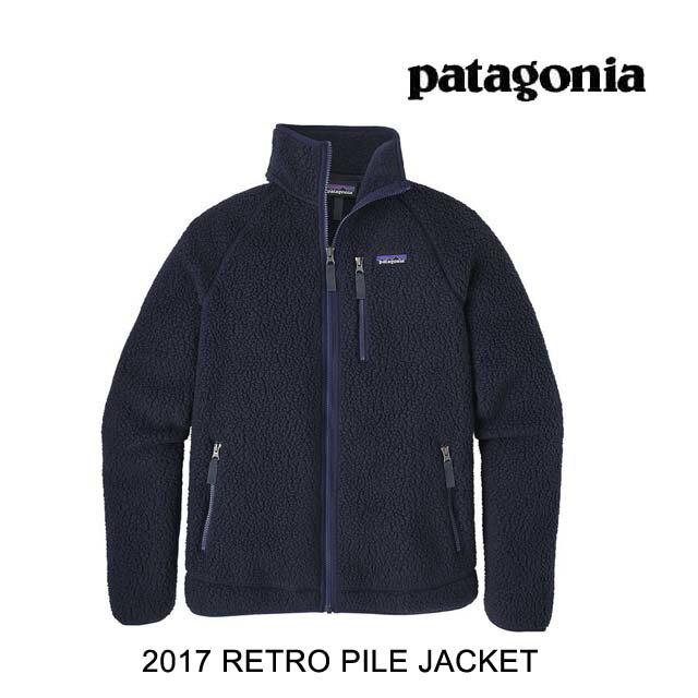 2017 PATAGONIA パタゴニア ジャケット RETRO PILE JACKET NVYB NAVY BLUE
