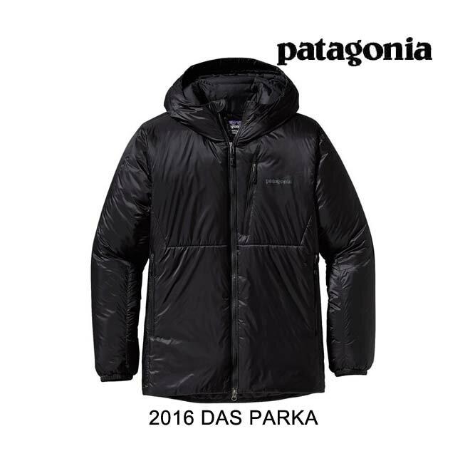 【7日間限定!ポイント最大38倍!12/9〜12/16迄】 2016 PATAGONIA パタゴニア ジャケット DAS PARKA BLK BLACK