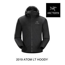 2019 ARC'TERYX アークテリクス フーディー ATOM LT HOODY BLACK