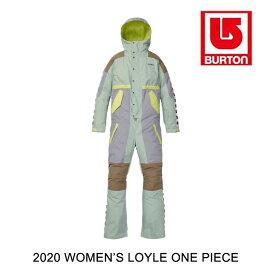 2020 BURTON バートン ロイル レディース ワンピース WOMEN'S LOYLE ONE PIECE AQUA GRAY / LILAC GRAY / TIMBER WOLF / SUNNY LIME スノーボード ウエア