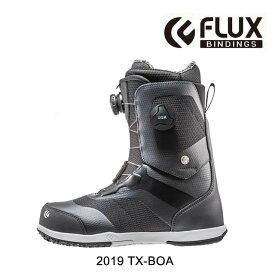 2019 FLUX フラックス スノーボードブーツ SNOWBOARD BOOT TX-BOA BLACK