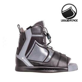 2021 LIQUID FORCE リキッドフォース インデックス バインディング BINDING INDEX BLACK ウエイクボード ビンディング 8-12(25.5-29.5cm) ブーツ