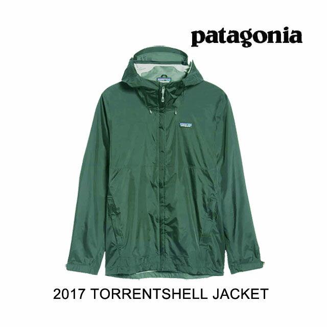 2017 PATAGONIA パタゴニア ジャケット TORRENTSHELL JACKET NUVG NOUVEAU GREEN