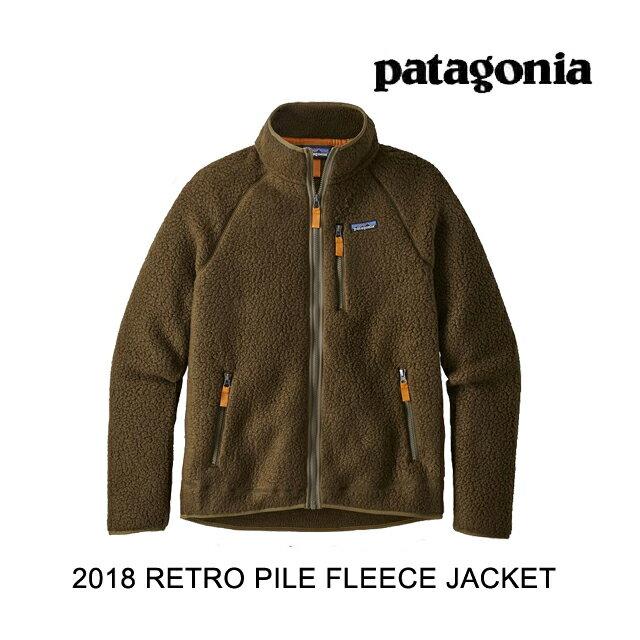 2018 PATAGONIA パタゴニア ジャケット RETRO PILE JACKET SEMT SEDIMENT
