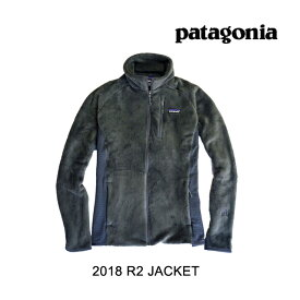 2018 PATAGONIA パタゴニア ジャケット R2 JACKET FGE FORGE GREY
