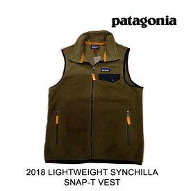 2018 PATAGONIA パタゴニア ライトウエイト シンチラ スナップ-T ベスト LIGHTWEIGHT SYNCHILLA SNAP-T VEST SEMT SEDIMENT