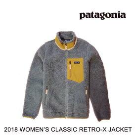 2018 PATAGONIA パタゴニア ジャケット WOMEN'S CLASSIC RETRO-X JACKET FEA FEATHER GREY 23074