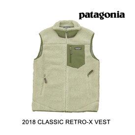 2018 PATAGONIA パタゴニア ベスト CLASSIC RETRO-X VEST PLCN PELICAN 23048