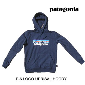 PATAGONIA パタゴニア フーディー P-6 LOGO UPRISAL HOODY CNY CLASSIC NAVY