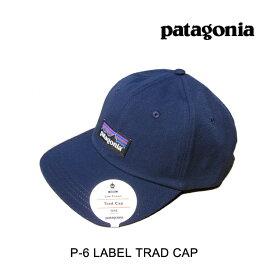 PATAGONIA パタゴニア 帽子 ハット P-6 LABEL TRAD CAP CNY CLASSIC NAVY