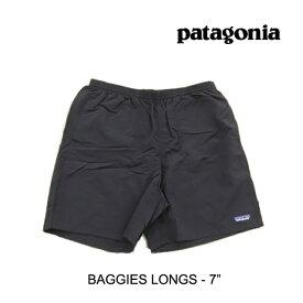 """PATAGONIA パタゴニア ショートパンツ BAGGIES LONGS 7"""" BLK BLACK"""