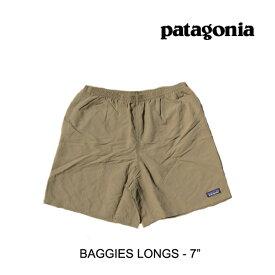 "PATAGONIA パタゴニア ショートパンツ BAGGIES LONGS 7"" ASHT ASH TAN"