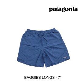 "PATAGONIA パタゴニア ショートパンツ BAGGIES LONGS 7"" SNBL STONE BLUE"
