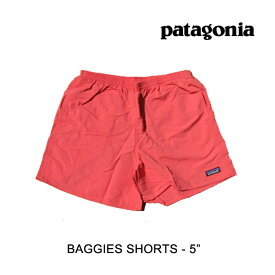 "PATAGONIA パタゴニア ショートパンツ BAGGIES SHORTS 5"" SPCL SPICED CORAL"