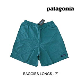 "PATAGONIA パタゴニア ショートパンツ BAGGIES LONGS 7"" TATE TASMANIAN TEAL"