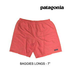 """PATAGONIA パタゴニア ショートパンツ BAGGIES LONGS 7"""" SPCL SPICED CORAL 58034"""