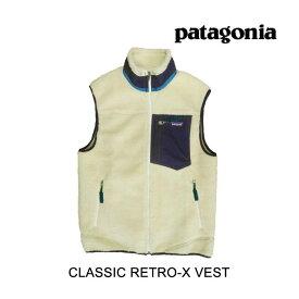 PATAGONIA パタゴニア クラッシック レトロ-X メンズ ベスト CLASSIC RETRO-X VEST NAT NATURAL 23048