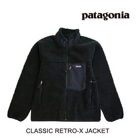 PATAGONIA パタゴニア レトロX ジャケット CLASSIC RETRO-X JACKET BOB BLACK W/BLACK 23056