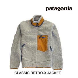 PATAGONIA パタゴニア クラシック レトロX メンズ ジャケット CLASSIC RETRO-X JACKET PEWG PELICAN W/WREN GOLD 23056