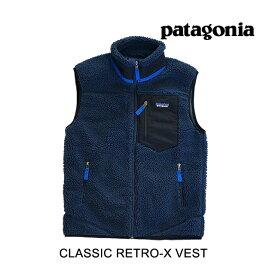 PATAGONIA パタゴニア クラッシック レトロ-X メンズ ベスト CLASSIC RETRO-X VEST NENA NEW NAVY 23048