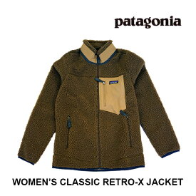 PATAGONIA パタゴニア クラシック レトロX レディース ジャケット WOMEN'S CLASSIC RETRO-X JACKET OWBR OWL BROWN 23074