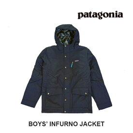 PATAGONIA パタゴニア ボーイズ・インファーノ・ジャケット BOYS' INFURNO JACKET NENA NEW NAVY 子供用 ※サイズ注意 68460