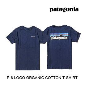 PATAGONIA パタゴニア P-6 ロゴ オーガニック メンズ Tシャツ P-6 LOGO ORGANIC T-SHIRT CNY CLASSIC NAVY 38535