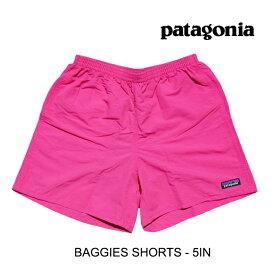 "PATAGONIA パタゴニア バギーズ ショーツ 5インチ ショートパンツ BAGGIES SHORTS 5"" ULPK ULTRA PINK 57021"