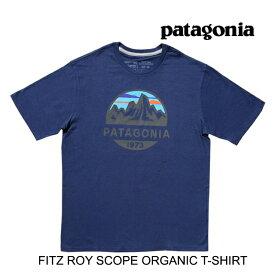 PATAGONIA パタゴニア フィッツロイ スコープ オーガニック Tシャツ FITZ ROY SCOPE ORGANIC T-SHIRT CNY CLASSIC NAVY 38526