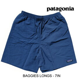 PATAGONIA パタゴニア ショートパンツ バギーズ ロング 7インチ BAGGIES LONGS - 7 IN SNBL STONE BLUE 58034