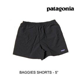 "PATAGONIA パタゴニア バギーズ ショーツ 5インチ ショートパンツ BAGGIES SHORTS 5"" BLK BLACK 57021"