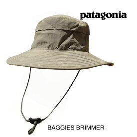 PATAGONIA パタゴニア 帽子 ハット バギーズ ブリマー BAGGIES BRIMMER ASHT ASH TAN 33340