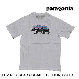 PATAGONIA パタゴニア フィッツロイ ベア オーガニック Tシャツ FITZ ROY BEAR ORGANIC T-SHIRT WHI WHITE 白 38524
