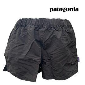 "PATAGONIA パタゴニア レディース ショートパンツ ベアリー・バギーズ WOMEN'S BARELY BAGGIES SHORTS - 2 1/2"" BLK BLACK 57043"