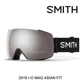 2019 SMITH スミス ゴーグル GOGGLE I/O MAG BLACK/CHROMAPOP SUN PLATINUM MIRROR+CHROMAPOP STORM ROSE FLASH ASIAN FIT