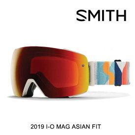 2019 SMITH スミス アイオーマグ ゴーグル I/O MAG GOGGLE EVAN HECOX スペアレンズ付 CHROMAPOP クロマポップ SUN RED MIRROR + STORM ROSE FLASH ASIAN FIT アジアン フィット スノーボード ゴーグル