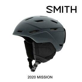 2020 SMITH スミス ミッション ヘルメット HELMET MISSION MATTE CHARCOAL