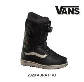 2020 VANS ヴァンズ オーラ プロ AURA PRO - BLACK/CASHMERE メンズ スノーボードブーツ MEN'S SNOWBOARD BOOT DOUBLE BOA ダブルボア バンズ