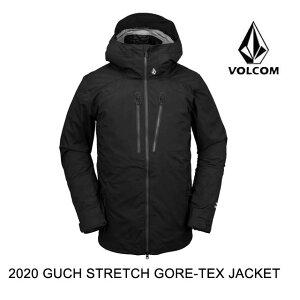 2020 VOLCOM ボルコム ジャケット GUCH STRETCH GORE JACKET BLACK