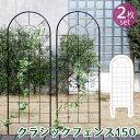 【ポイント10倍】 クラシックフェンス150 ロータイプ 2枚組送料無料 フェンス アイアン ガーデンフェンス ガーデニ…