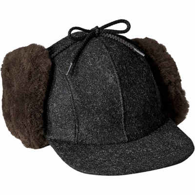 フィルソン その他帽子 Double Mackinaw Cap Charcoal/Dark Brown
