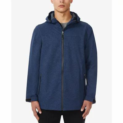 サーティーツーディグリー 32 Degrees レインコート Storm Tech Full-Zip Hooded Rain Jacket Indigo Melange