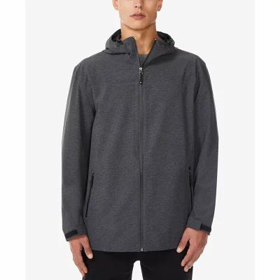 サーティーツーディグリー 32 Degrees レインコート Storm Tech Full-Zip Hooded Rain Jacket Iron Melange