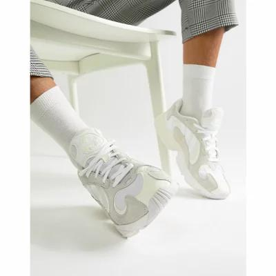 アディダス adidas Originals スニーカー Yung-1 Trainers In White B37616 White