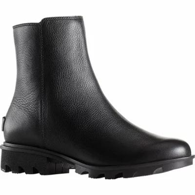 ソレル Sorel ブーツ Phoenix Zip Ankle Boot Black Waterproof Full Grain Leather