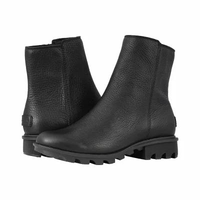 ソレル SOREL ブーツ Phoenix(TM) Zip Black Full Grain Leather