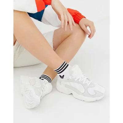 アディダス adidas Originals スニーカー Yung'1 Trainers In Off White White
