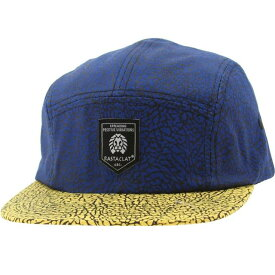ラスタクラット Rastaclat Asphalt 5 Panel Camper Adjustable Cap (royal / yellow) ユニセックス